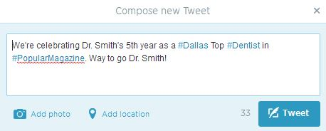 Dr Smith Tweet