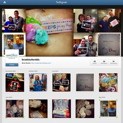 Instagram Marketing - Brad Stutler DDS