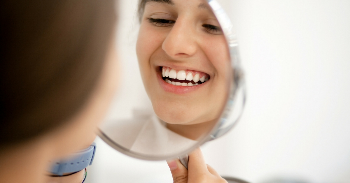oral health myth about healthy smile