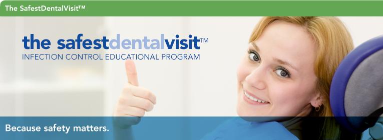 surface disinfection - safest dental visit