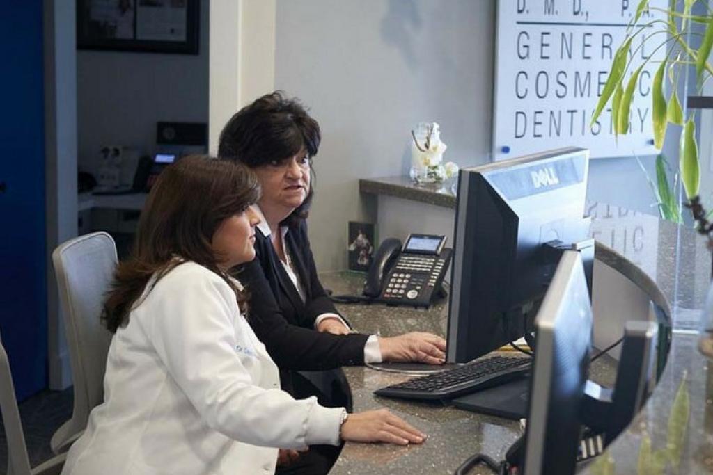 reviewing dental treatment plans