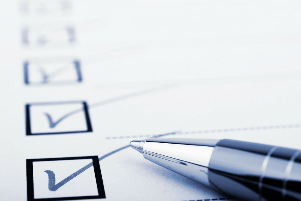 use checklists