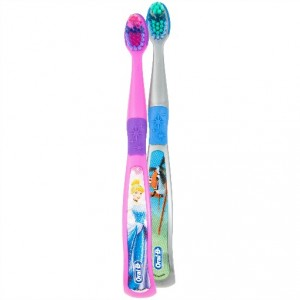 oral b stages toothbrushes age 5-7