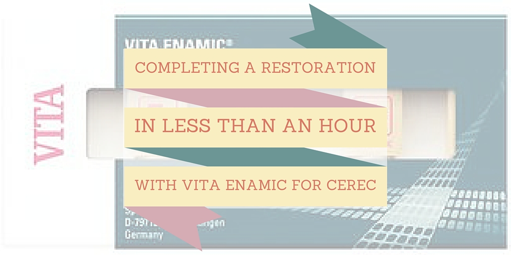 VITA Enamic 43 minute restoration video
