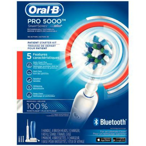 oral-b Pro 5000 smartseries electric toothbrush prouct image