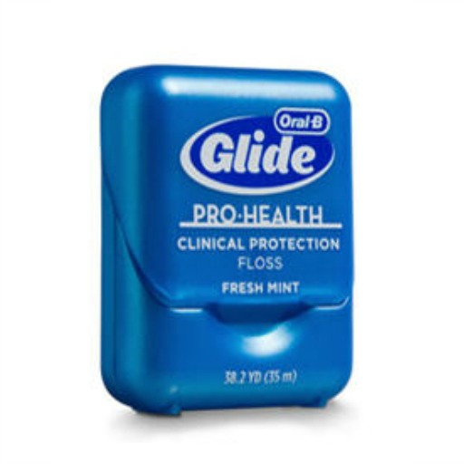 container of oral-b glide prohealth clinical protection floss