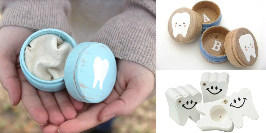wooden tooth boxes