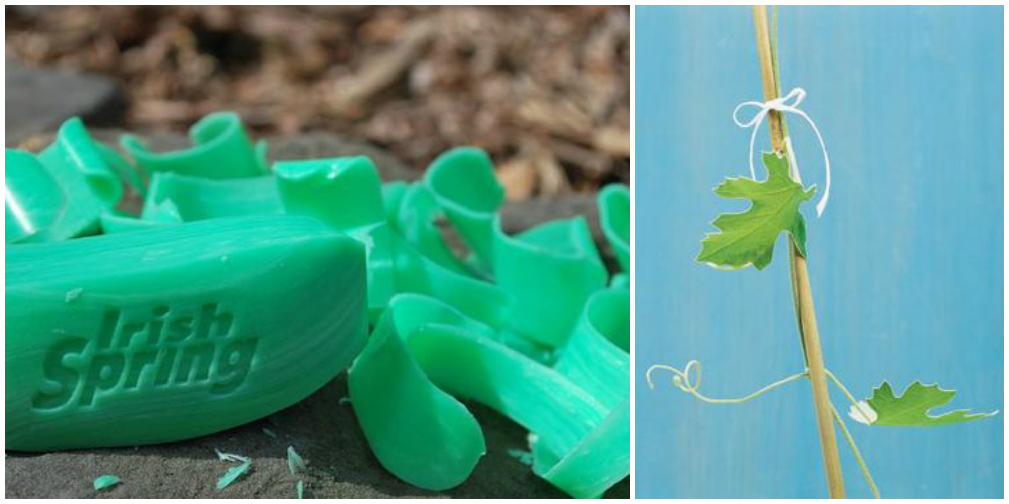how to use floss in the garden