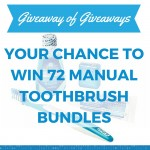 giveaway of giveaways manual toothbrush bundle promotion