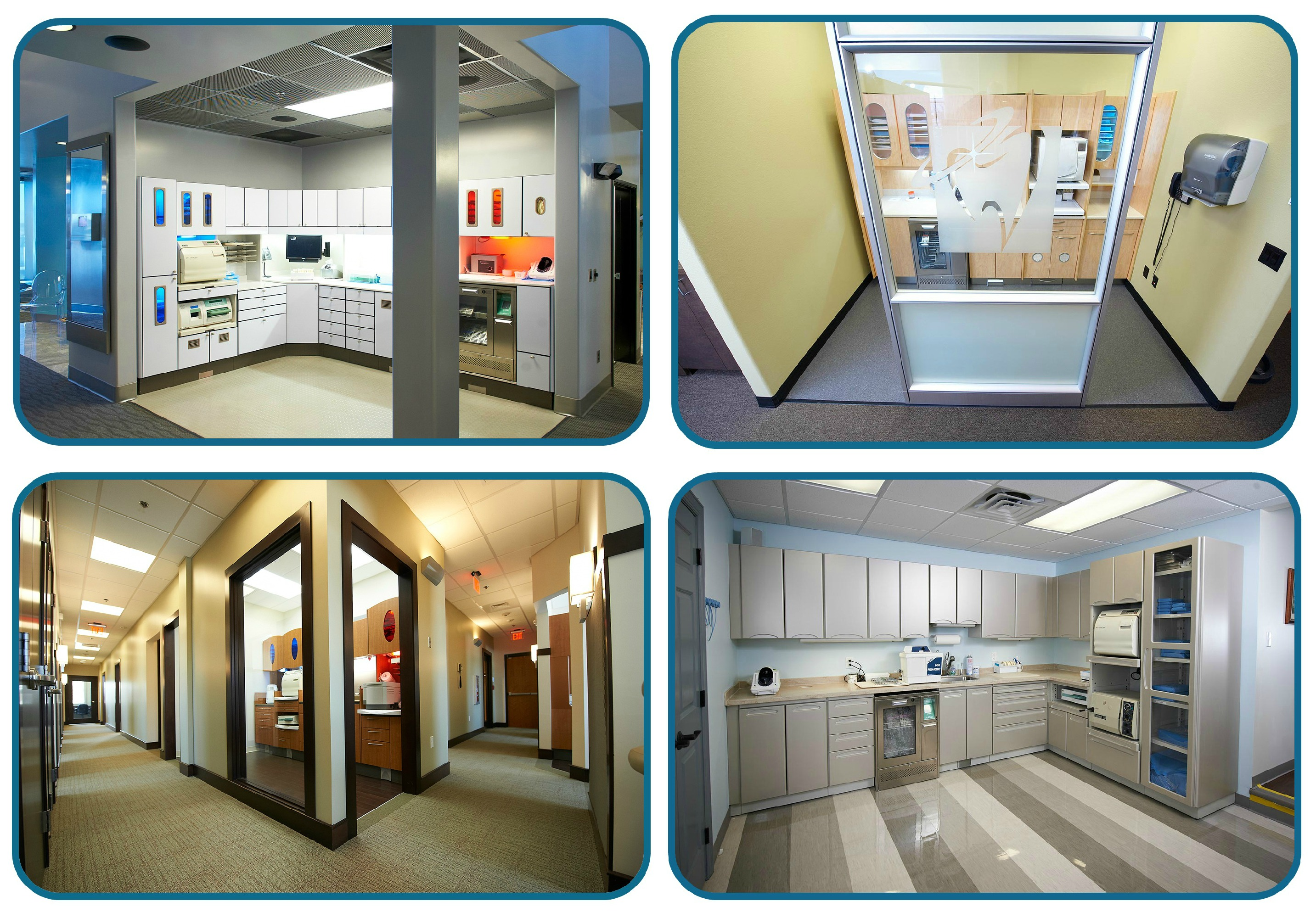 4 ideas for beautiful sterilization center floorplans