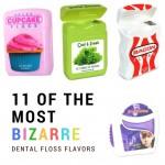 11 bizarre dental floss flavors