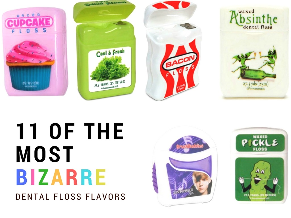 11 of the most bizarre floss flavors