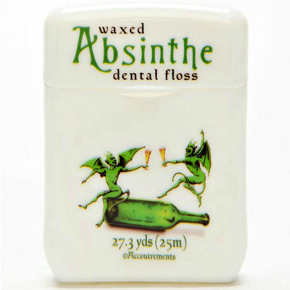 absinthe flavored dental floss