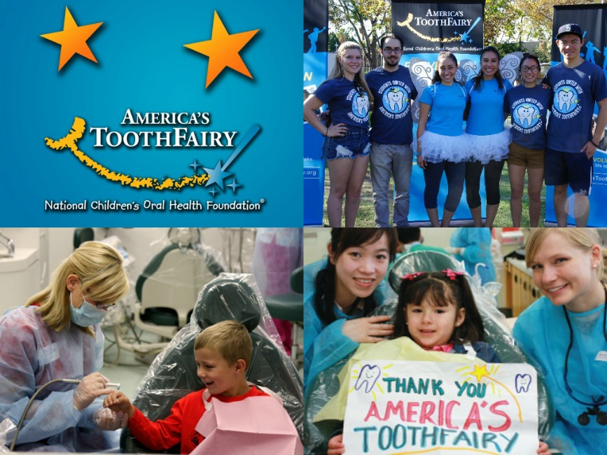 Americas Toothfairy NCOHF collage
