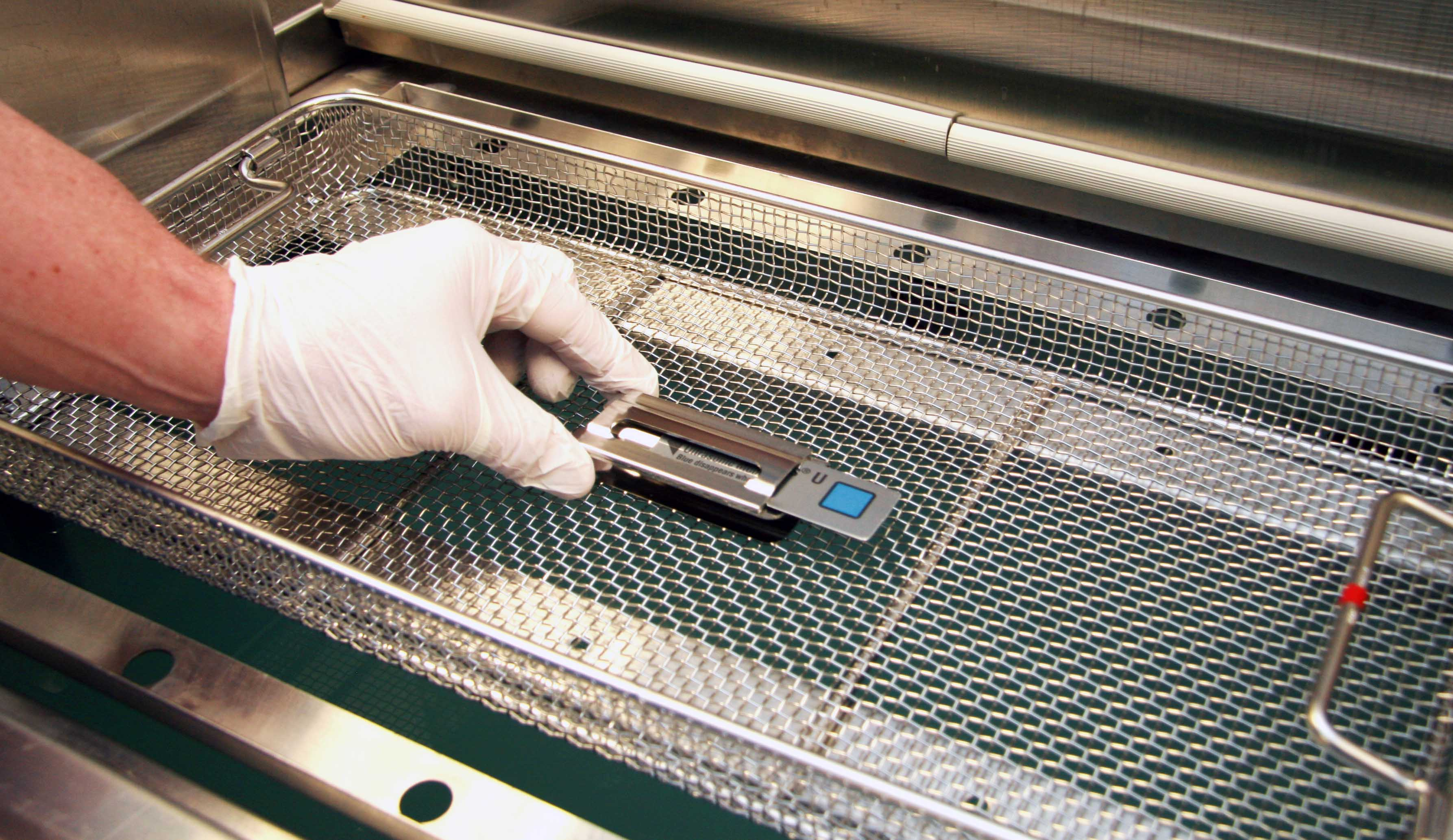 Ultrasonic Cleaning Monitor In-Use