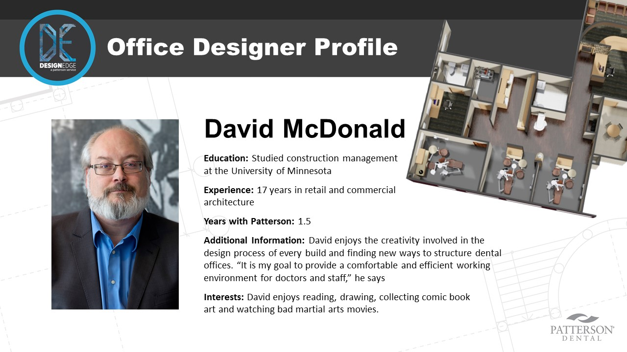 Office Designer David McDonald