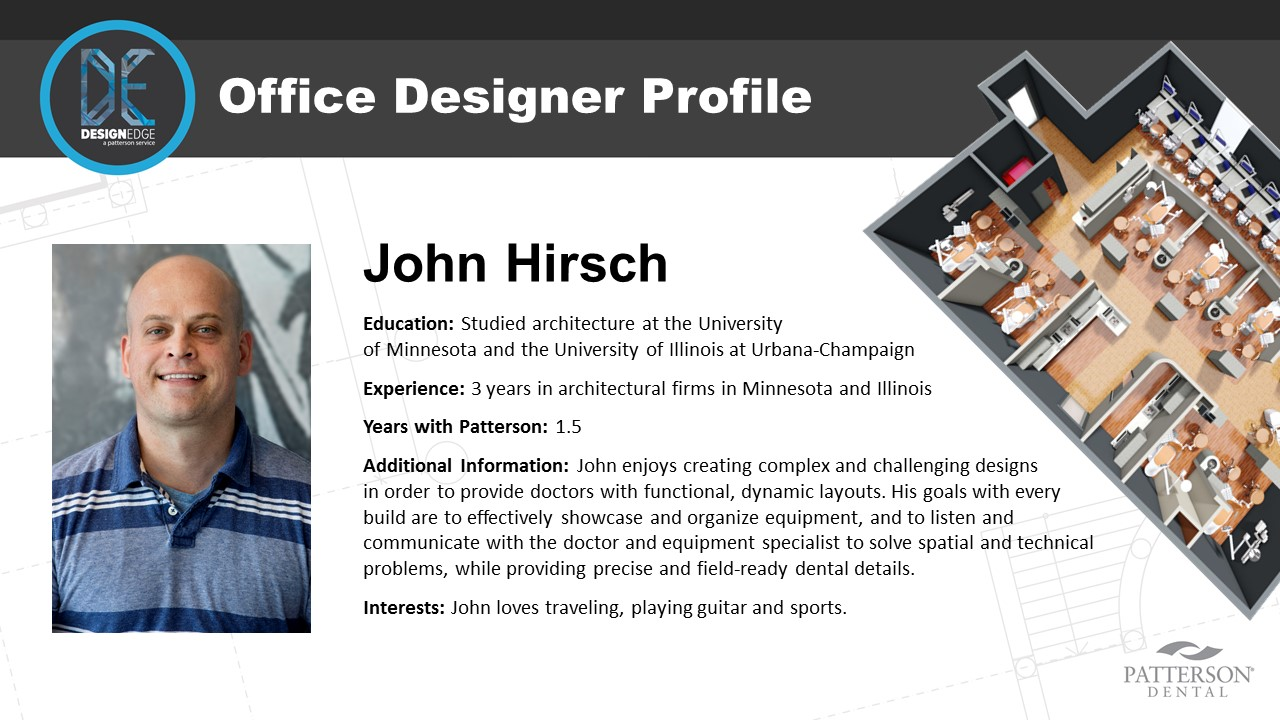 Office Designer John Hirsch