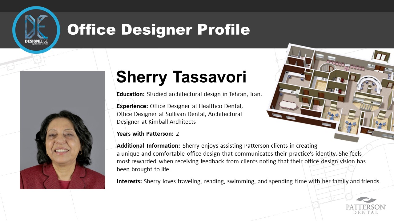 Office Designer Sherry Tassavori