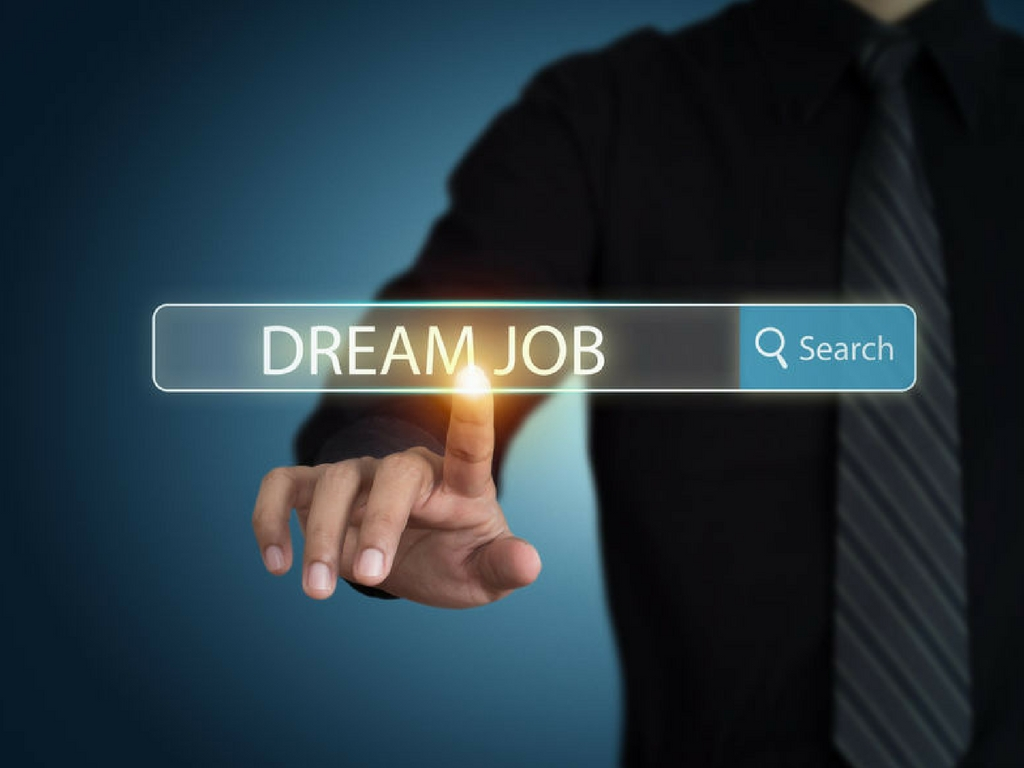 internet search for dream job