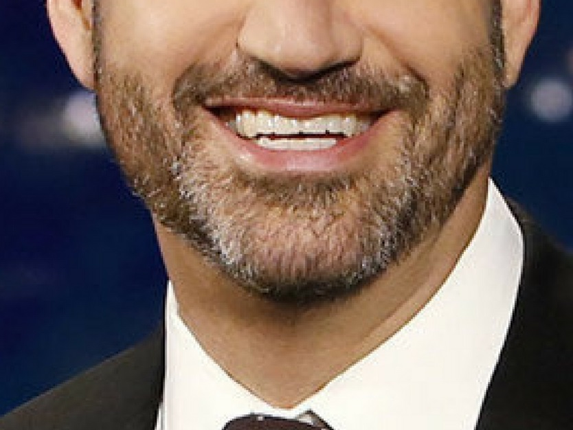 jimmy kimmel smile closeup