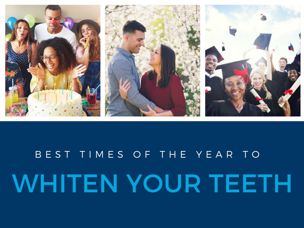 Best Times of the Year to Whiten Your Teeth