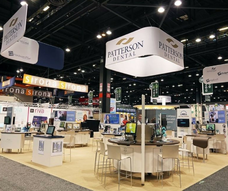 patterson dental tradeshow floor