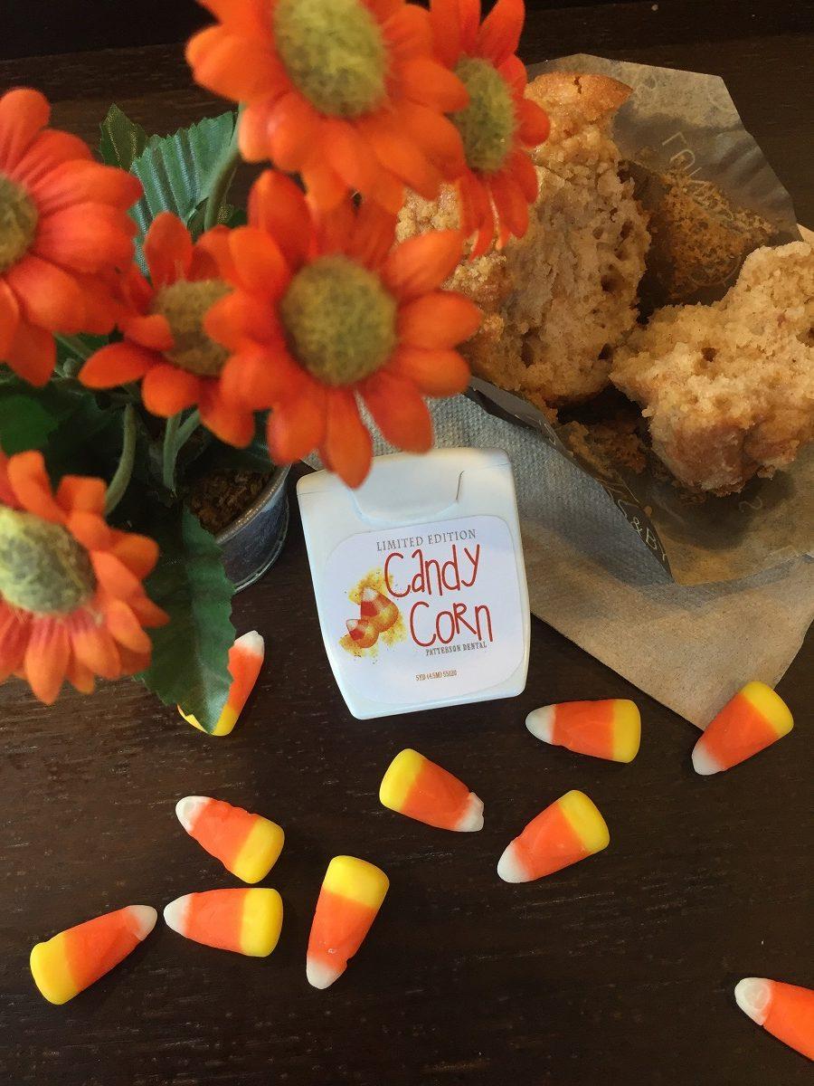 Candy Corn Dental Floss