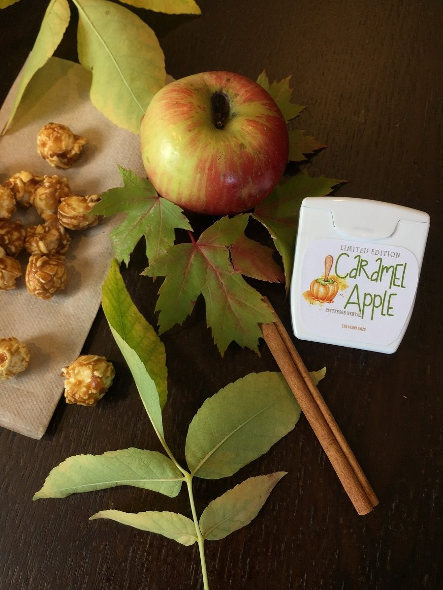 Caramel Apple Dental Floss