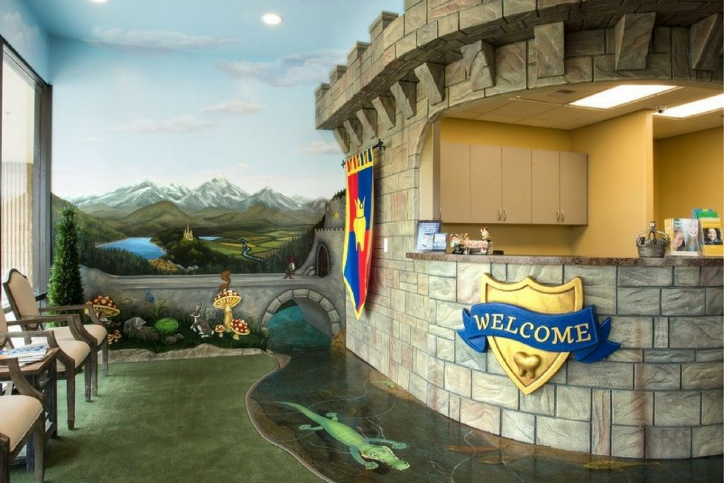 smile kingdom welcome desk castle