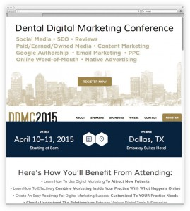 Dental Digital Marketing Conference
