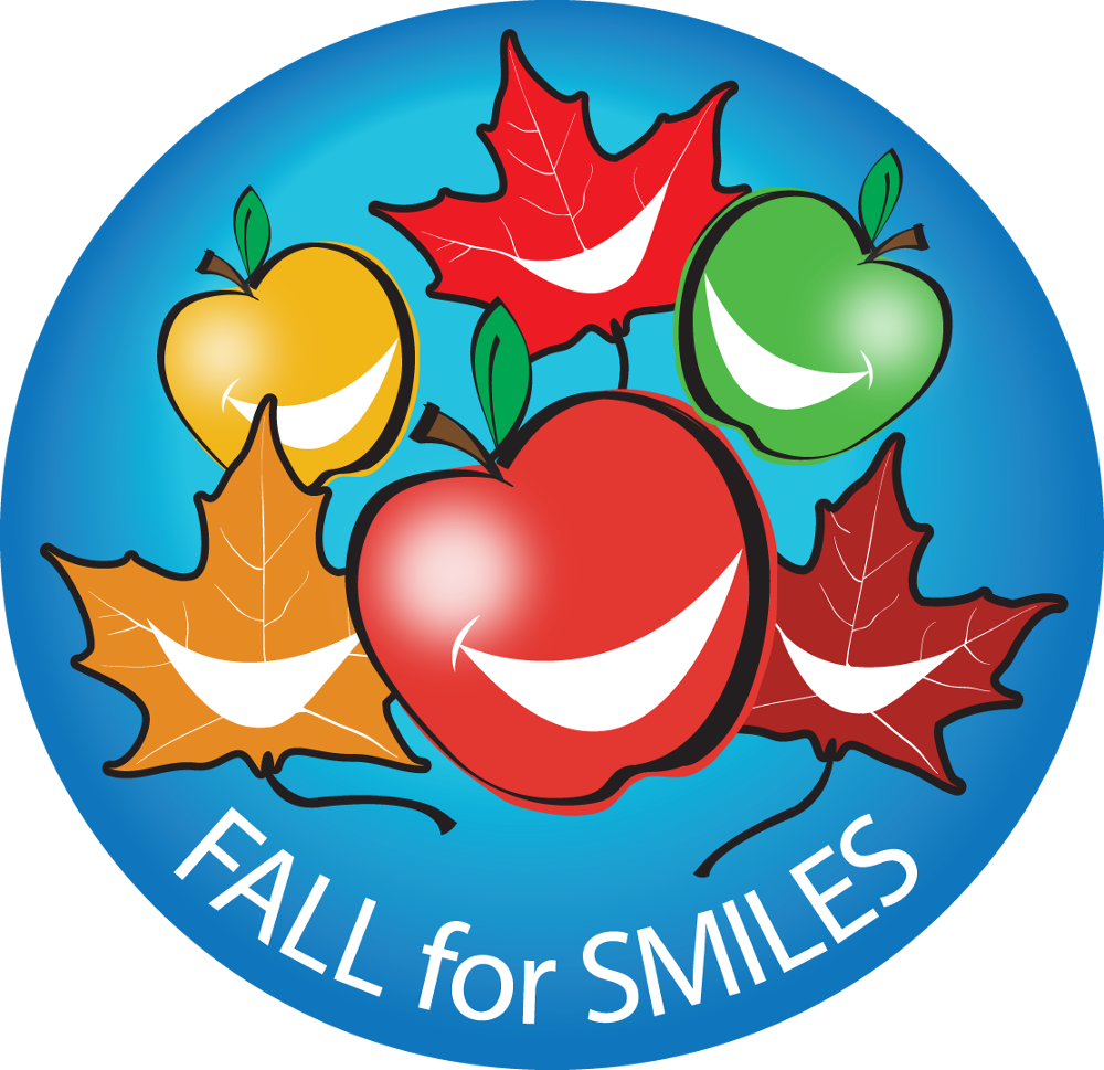 fall for smiles program logo