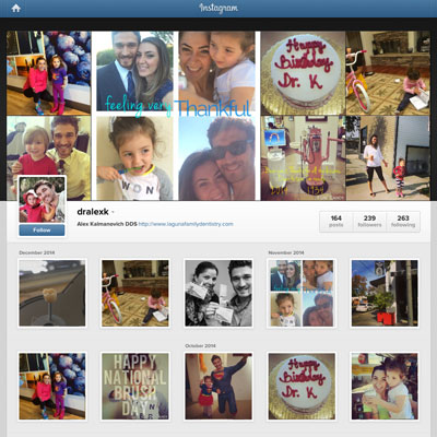 Instagram Marketing - Alex Kalmanovich DDS