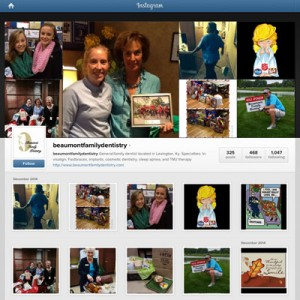 Instagram Marketing - Beaumont Family Dentistry