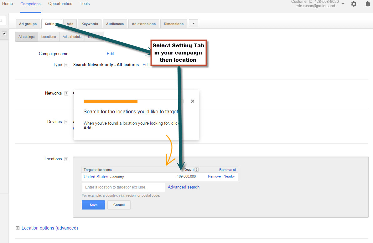 Google Geotargeting - image 1