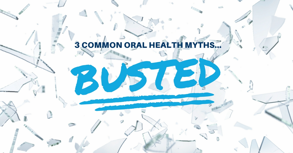 3 common oral health myths busted