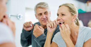 oral health myth about bleeding gums