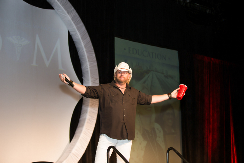 Toby Keith Impersonator at AADOM's 11th Annual Conference in Nashville, TN
