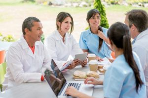 monthly dental team meetings