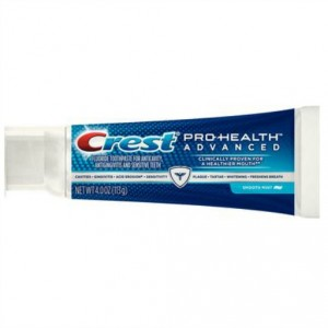 tube of Crest ProHealth Advanced Toothpaste