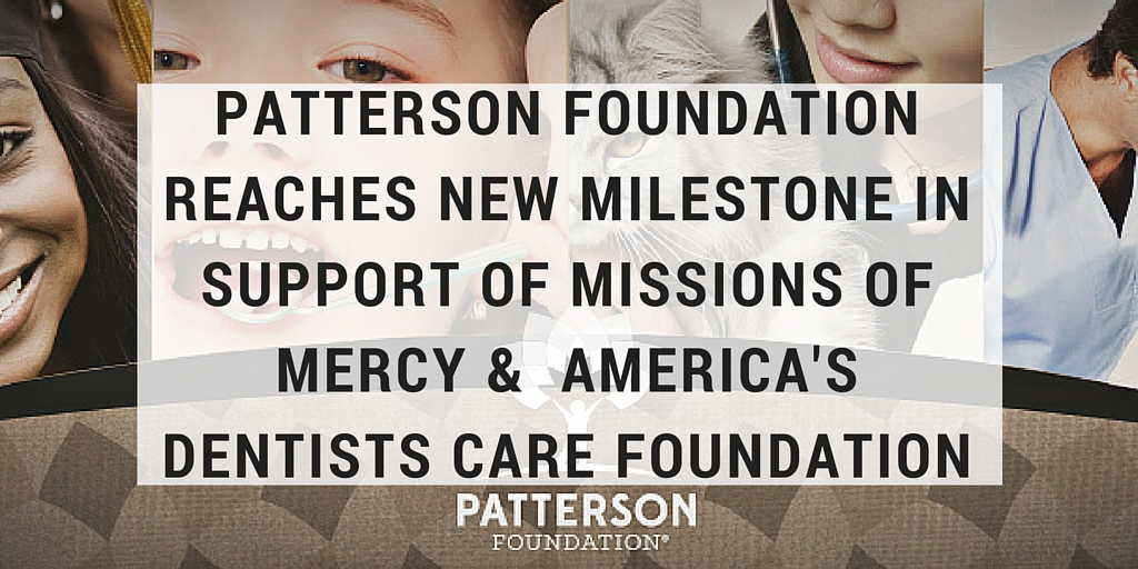 patterson foundation reaches giving milestone