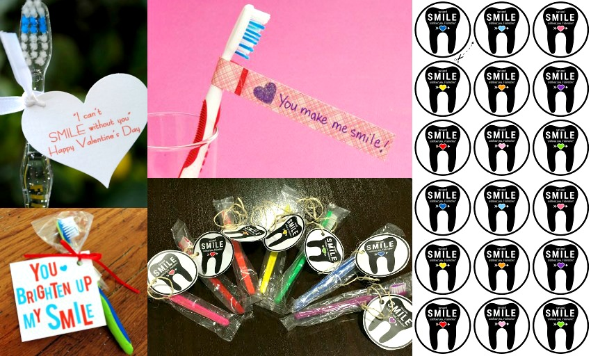 toothbrushes with free printable tags