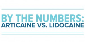 By the numbers articaine vs lidocaine