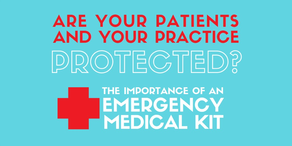 the emergency medical kit's importance in a dental office