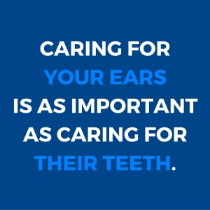 caring for your ears as a dental health professional