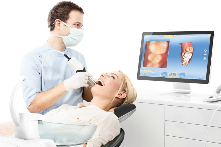 CEREC in-use