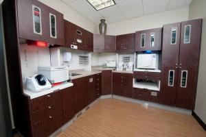 sterilization center at Memorial City Smiles in Houston, Texas