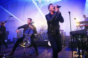 one republic on stage