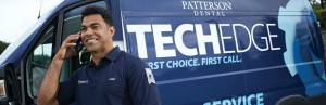Patterson TechEdge service van and driver