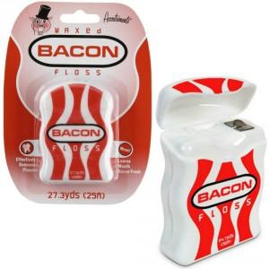 bacon flavored dental floss