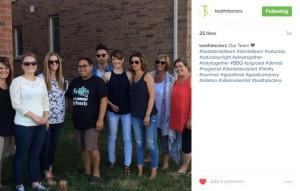 dental social media tips show off your team